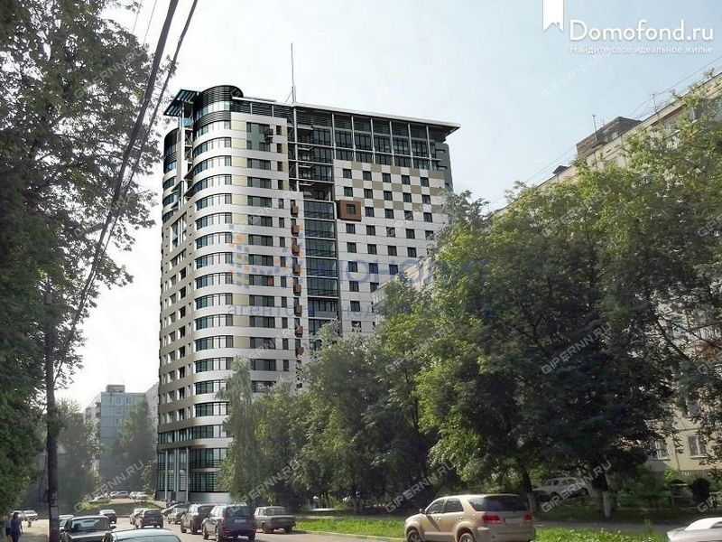 трёхкомнатная квартира в новостройке на улице Семашко