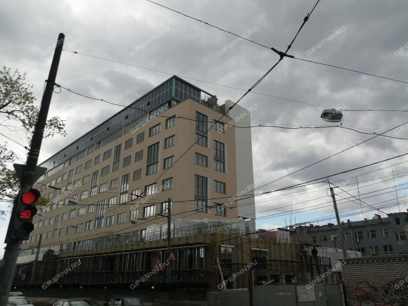 трёхкомнатная квартира в новостройке на улице Маслякова