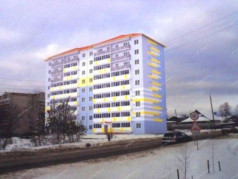 двухкомнатная квартира в новостройке на ул. 9 Мая, 29Б город Арзамас